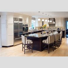 Curved Kitchen Island On Pinterest