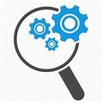 Icon Engine Optimization Seo Magnifying Glass Tools