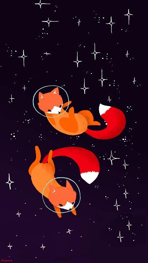 Animated Fox Wallpaper - fox cosmos wallpaper iphone my edition a aisuru fox