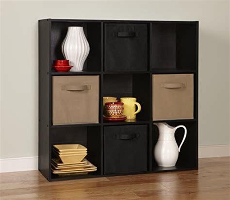 Closetmaid Black - closetmaid 78016 cubeicals organizer 9 cube black buy