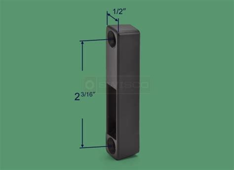 sliding screen door lock assembly black swiscocom