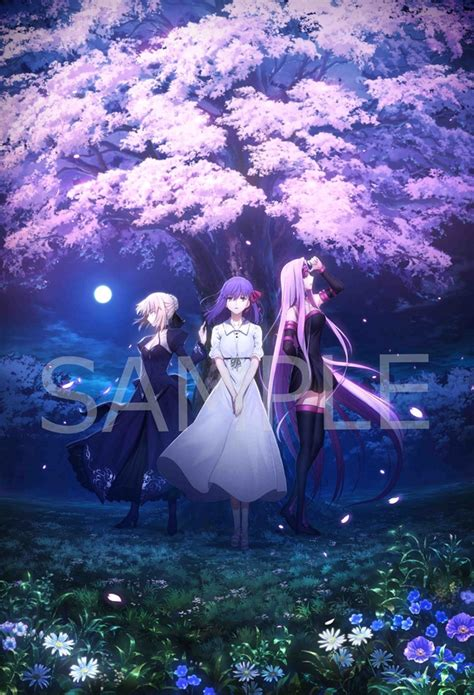 crunchyroll key visual  fatestay night heavens