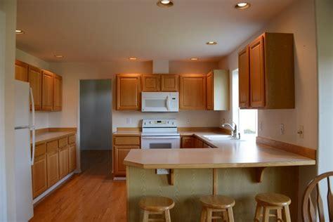 basic builders grade kitchen seattle  mcadams