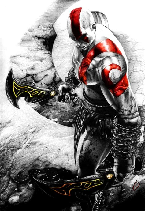 Kratos God Of War Iii By Jansen34 On Deviantart