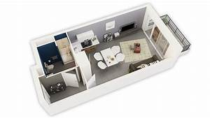 Stunning Plan Amenagement Studio 25m2 Images - Amazing