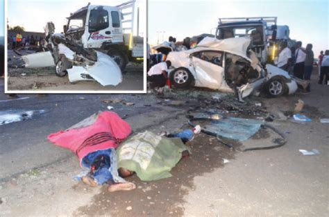 8 Killed In Horror Crash