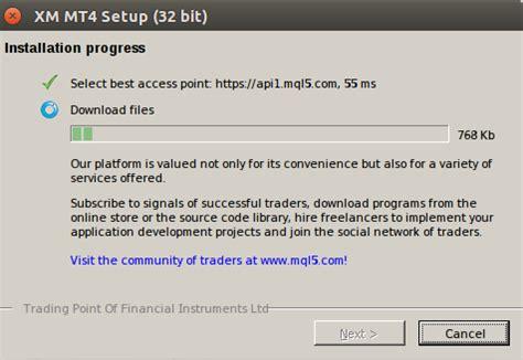 mt4 64 bit wine mt4 installer stuck at phase ask ubuntu