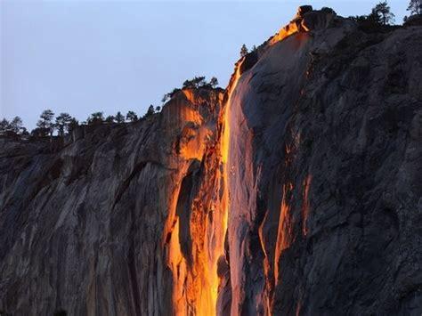 Yosemite Firefall Gorgeous February Tradition