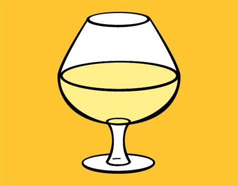 disegno bicchiere  vino colorato da nikolette il
