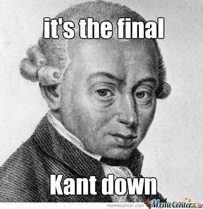 Kant Memes - kant meme google zoeken filosofie pinterest meme and memes