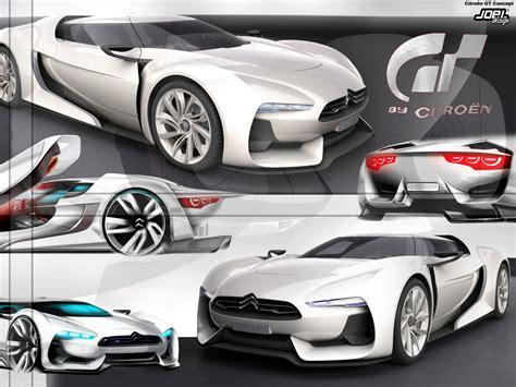 Citroen Gt Concept2 By Joel-design On Deviantart