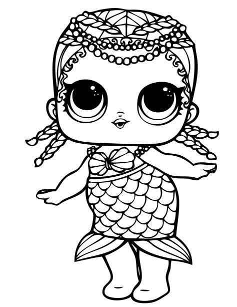 LOL Dolls Coloring Pages Best Coloring Pages For Kids in
