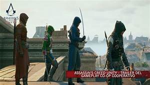 Assassin's Creed Unity - Trailer del Gameplay co-op [IT ...