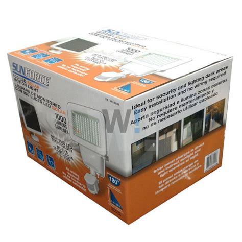 1000 lumen solar security light sunforce 1000 lumen 100 led solar motion light sensor