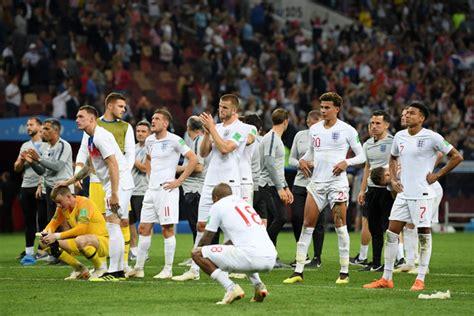 England Croatia Semi Final Fifa World Cup