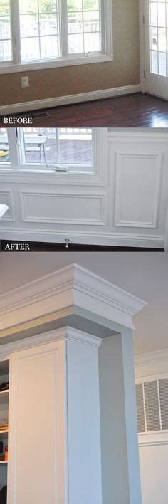 adding moulding to kitchen cabinets crown molding pairs well with shaker style cabinetry 7409