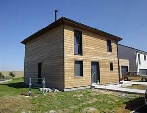 Ossature Bois Maison : maison bois d 39 architecte cubique nos maisons ossatures ~ Melissatoandfro.com Idées de Décoration