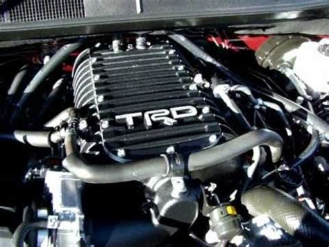 supercharged toyota tundra trd  hp