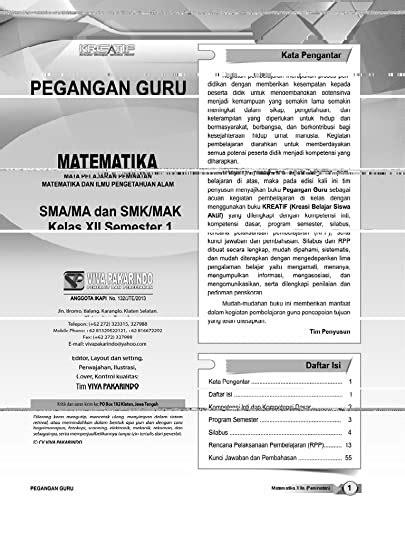 Download kunci jawaban lks pr intan pariwara kelas x sekolah online. Kunci Jawaban Lks Matematika Viva Pakarindo - GURU SD SMP SMA