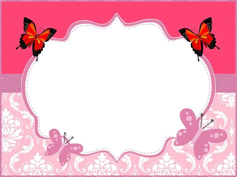 butterfly invitation template butterfly invitations