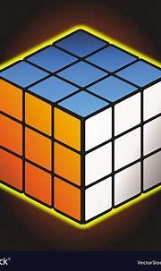 Rubiks cube Royalty Free Vector Image - VectorStock