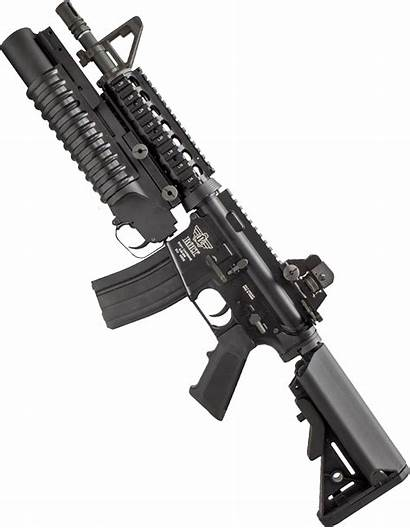 Grenade Launcher M4 Tactical Background Carbine Clipart