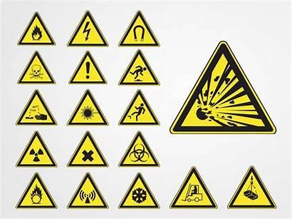 Hazard Symbols Vector Warning Fire Symbol Safety