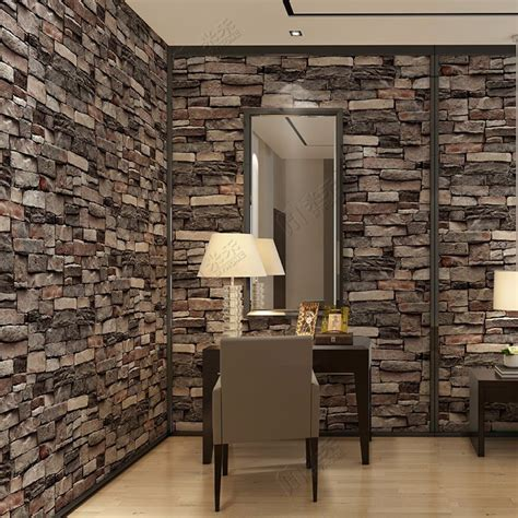 Wallpaper Design For Home Interiors by China Interior Design Pvc Vinyl 3d Brick Wallpaper Wall