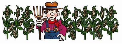 Farmer Farm Clipart Farming Clip Corn Farmers