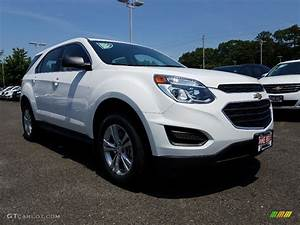 2017 Summit White Chevrolet Equinox LS #121036187 ...
