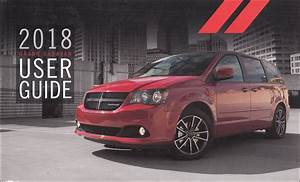 2018 Dodge Grand Caravan User Guide Owner U0026 39 S Manual Original