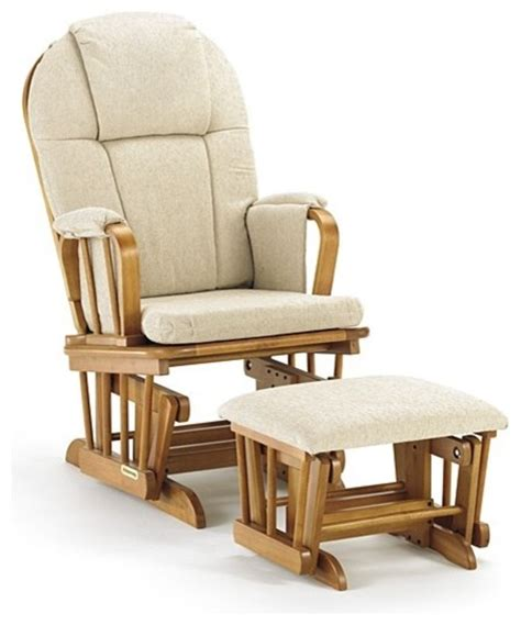 rocker glider recliner with ottoman shermag 37913cb glider rocker ottoman pecan