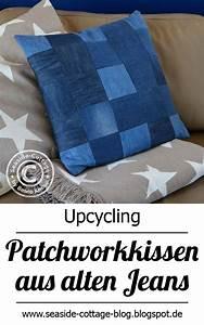 Kissen Rückenlehne Wand : upcycling patchwork kissen aus jeans blaue wand it patchwork jeans upcycle a jean shirts ~ Eleganceandgraceweddings.com Haus und Dekorationen