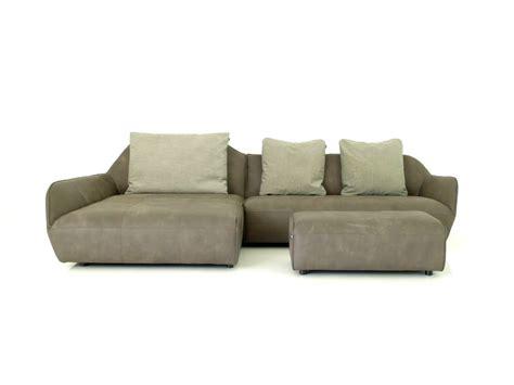 hülsta hs 480 h 252 lsta sofa hs 480 mit recamiere und polsterbank in anilin