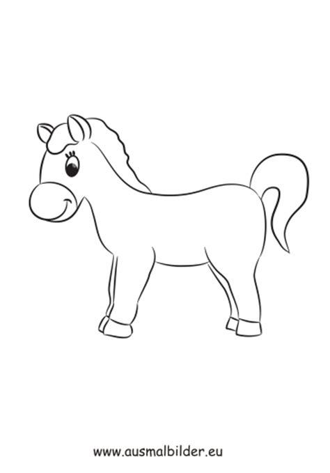 ausmalbild kleines pony zum ausdrucken