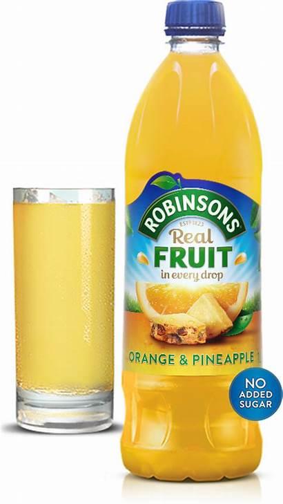 Water Orange Robinsons Pineapple Drinking Enjoy Fruit