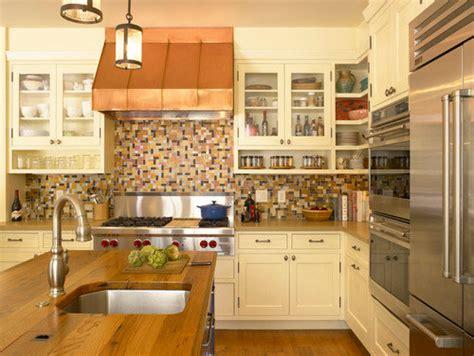 open shelves   upper cabinet