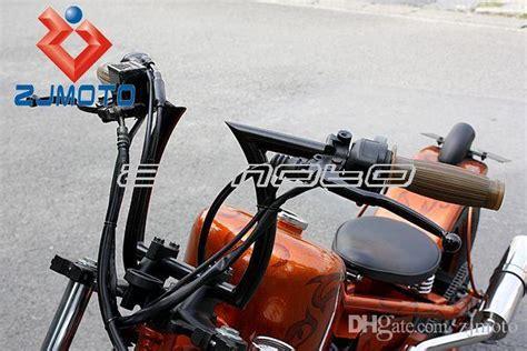 2019 Zjmoto Black Drag 1 Z Bars Motorcycle Pullback