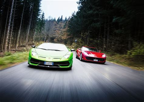 Called the 812 gts, it features entirely different rear bodywork f. Ferrari-812-Superfast-vs-Lamborghini-Aventador-SVJ_1 - Revista CAR: coches y actualidad del ...