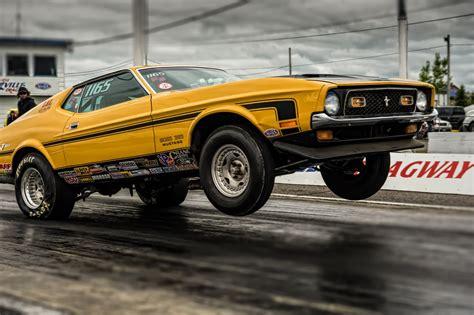Ford Mustang Muscle Car Drag Racing Race Hd Wallpaper