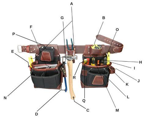 basic framingcarpentry tools whats   framers bags