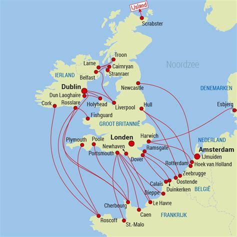 Boten Op De Noordzee by Noordzee Atlantische Oceaan Havensteden Overtocht