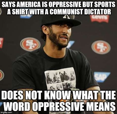 Colin Kaepernick Meme - lesean mccoy points out that colin kaepernick isn t good enough to be a full time distraction