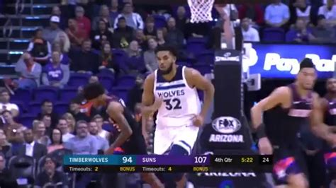 highlights karl anthony towns  points  rebounds