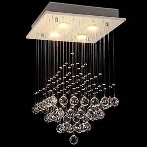 Lustre Pampilles Cristal : luminaire lustre applique murale pour chambre marchesurmesyeux ~ Teatrodelosmanantiales.com Idées de Décoration