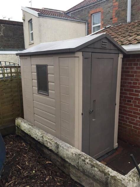 keter 6 x 6 plastic shed keter 6 x 4 plastic shed in staple hill bristol gumtree