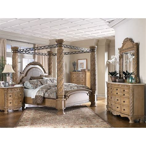 Furniture Canopy Bedroom Sets by South Coast Poster Canopy Bedroom Set Millennium