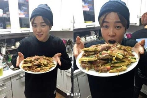 bts cuisine jimin food my two favorite things bts jimin