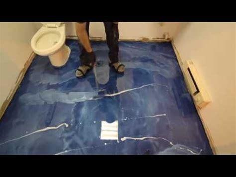 metallic epoxy floor coating tutorial  vct tile