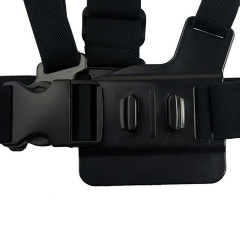body chest strap harness gopro mount support gopro
